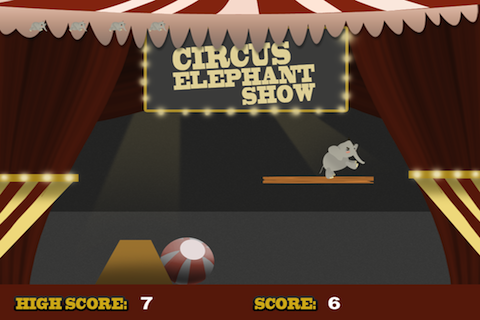 Screenshot Circus Elephant Show Lite