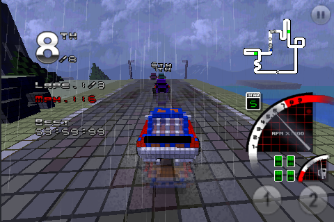 Screenshot 3D Pixel Racing